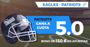 Supercuota Paston NFL Eagles - Patriots